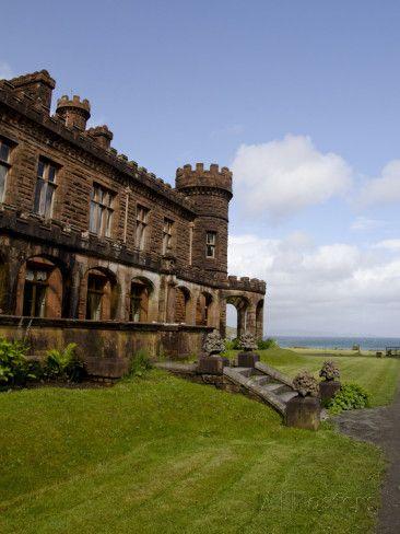 Historic Kinloch Castle, Isle of Rhum, Inner Hebrides, Scotland Photographic Print