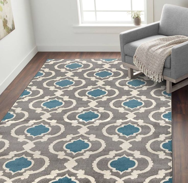 Melrose Gray Blue Area Rug In 2019 Area Rugs Rugs