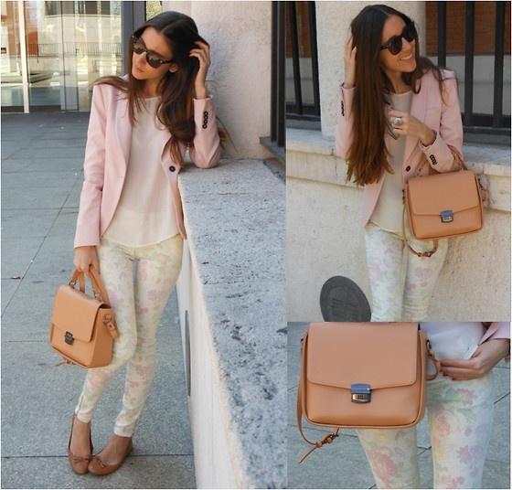 Zara Blazer, Zara Pants, Zara Bag