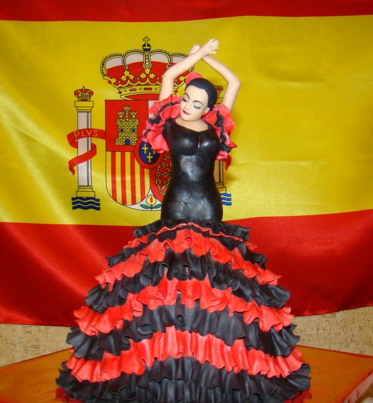 Flamenco Dancer Birthday Cake