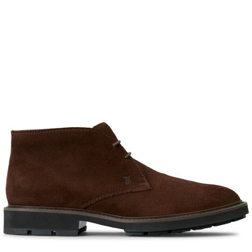 TOD'S . #tods #shoes #schnürboots aus veloursleder