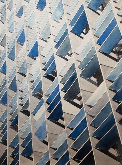 Architectural azure. Xk #kellywearstler #myvibemylife #blue