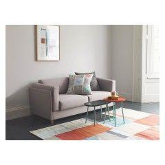 CUBIST Large multi-coloured wool blend rug 170 x 240cm
