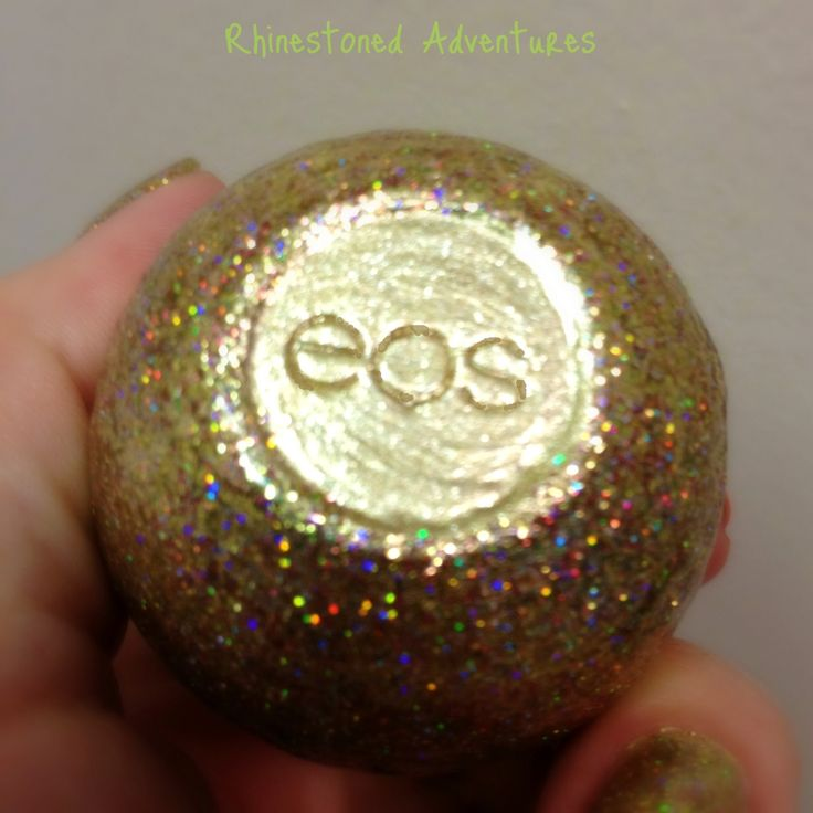 Rhinestoned Adventures: EOS gets GLITTER BOMBED