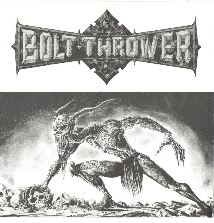 Bolt thrower death metal thrash metal extreme metal