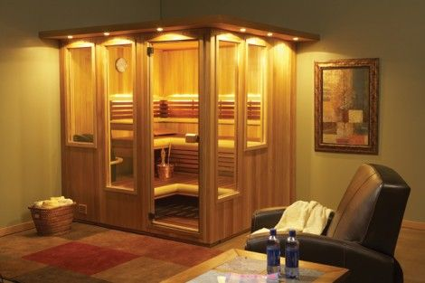 Indoor Sauna will be a relaxing way to sweat off the stress.