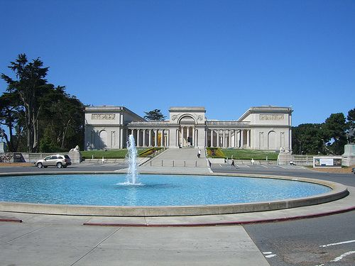 The Palace of the Legion of Honor, SF
