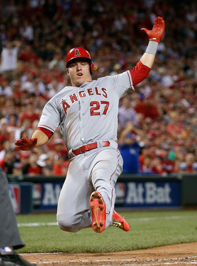 2015 ASG: Mike Trout, LAA