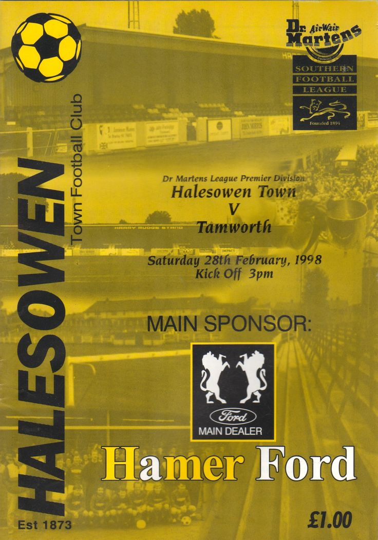 Halesowen Town F.C. in West Midlands, West Midlands