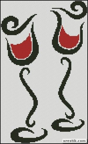 Glasses scheme download monochrome embroidery food and drink the wine glasses