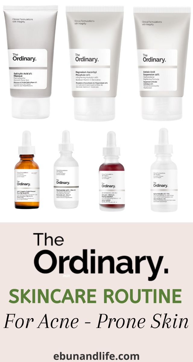 The Ordinary Skincare Routine for Acne in 2020 | The ...