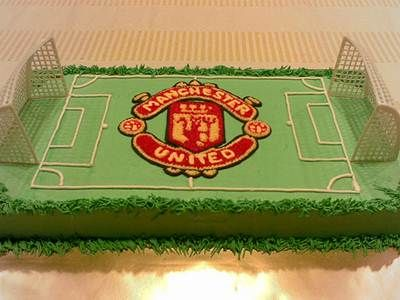 Manchester United Birthday Cake Ideas