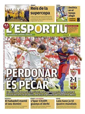 L'Esportiu por kutxe - Portada prensa deportiva - Fotos del F.C. Barcelona, La galeria de fotos más extensa de los aficionados al futbol club barcelona. Comparte tus fotos del Barça