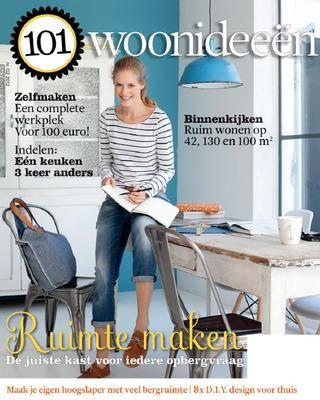 Decor: Deze Cover, Magazine 101Woonideeen, E Magazines, 101Woonideeen 02 2012, Cover Dutch