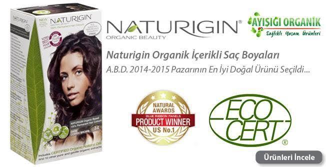 En iyi ve doğal saç boyası markası #naturigin 2014-2015 ABD de ödül almış markadır en iyi organik ve doğal ürün secilmiştir. ayisigiorganik.com/naturigin-organik-icerikli-sac-boyalari