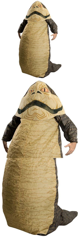 Halloween Costumes Men: Jabba The Hut Costume Adult Star Wars Halloween Fancy Dress BUY IT NOW ONLY: $67.29