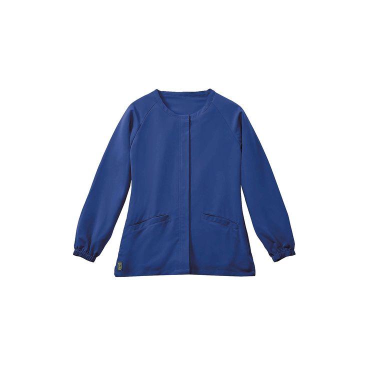 Addison Ave Scrub Jacket Royal Blue Medium