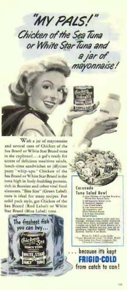 Chicken of the Sea Tuna – Recipe (1951)