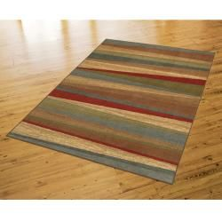 @Overstock - The offset design of this striped rug and the bold use of color accentuate the striated background all yielding a contemporary masterpiece. This rug is stain and fade resistant and is sure to be beautiful for years.http://www.overstock.com/Home-Garden/New-Wave-Mayan-Sunset-Rug-8-x-10/6668671/product.html?CID=214117 $172.99