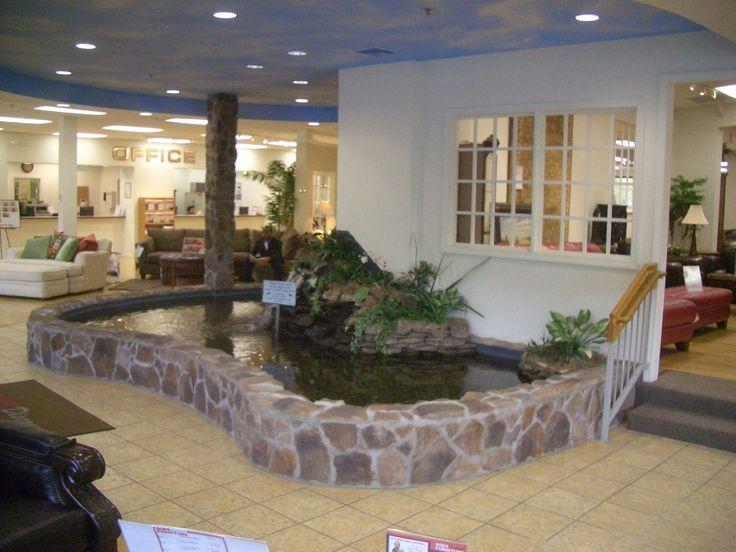 Indoor fish pond design - photo#21