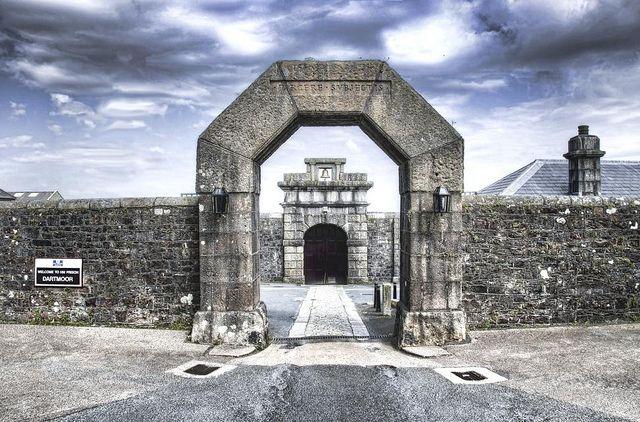 HM Prison, Princetown, Dartmoor, Devon.