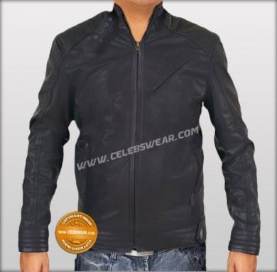 -$199.00The Bourne Legacy Black Leather Jacket