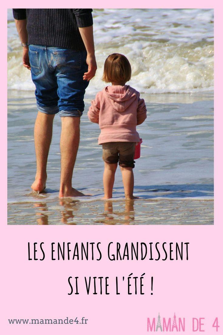 Voir Les Enfants Grandir L Ete Maman De 4 Vacances Avec Enfants Enfant Grandir