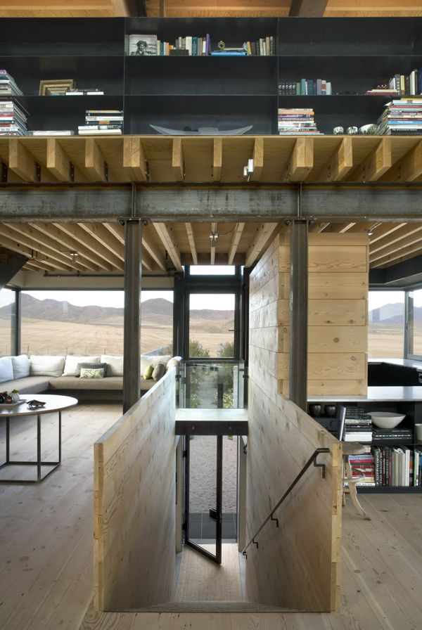 Remote home rises from the high desert floor by Olson Kundig Architects