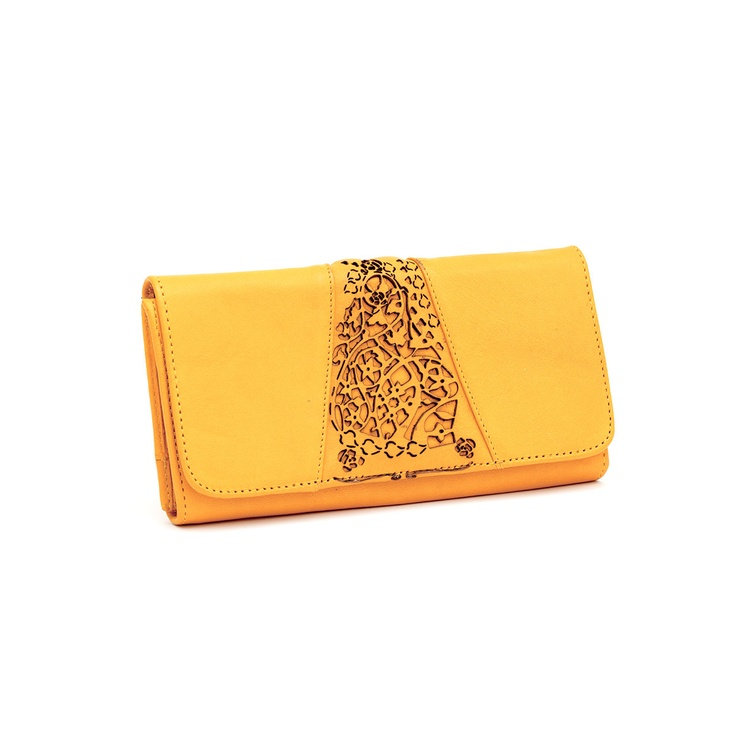 Fab.com | Luanne Trifold Wallet Mustard