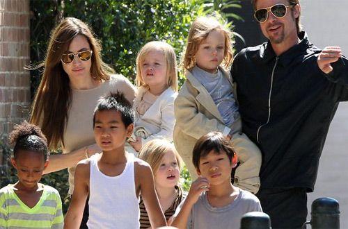 Дети Джоли и Питта озвучили героев в новой части «Кунг-фу Панда 3»