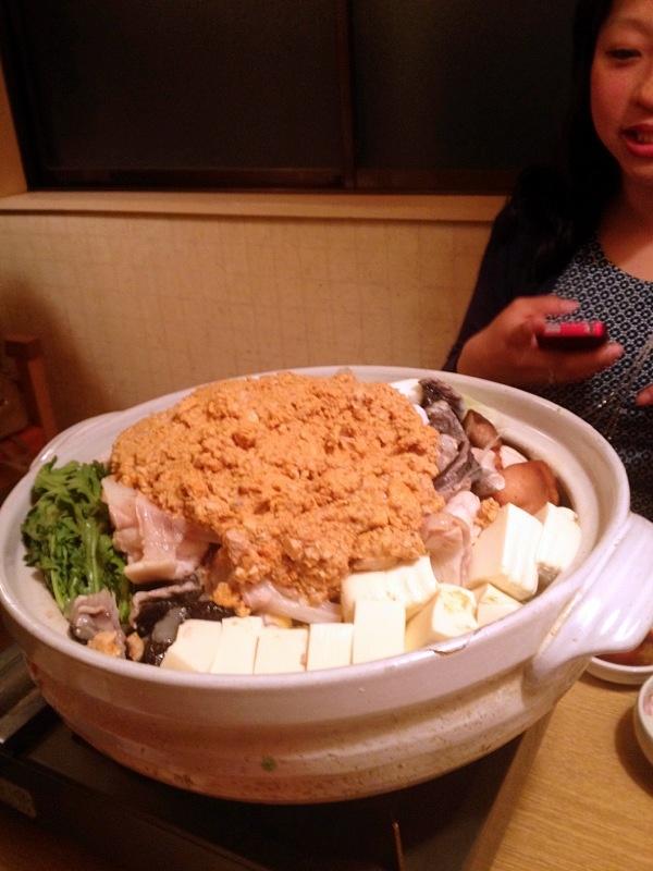 Anko nabe @ Tsukishima
