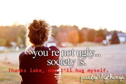 Thanks lake, now I'll hug myself