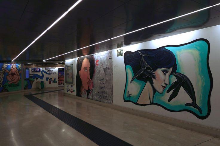 Sottopasso Stazione FS Porta Garibaldi Milano