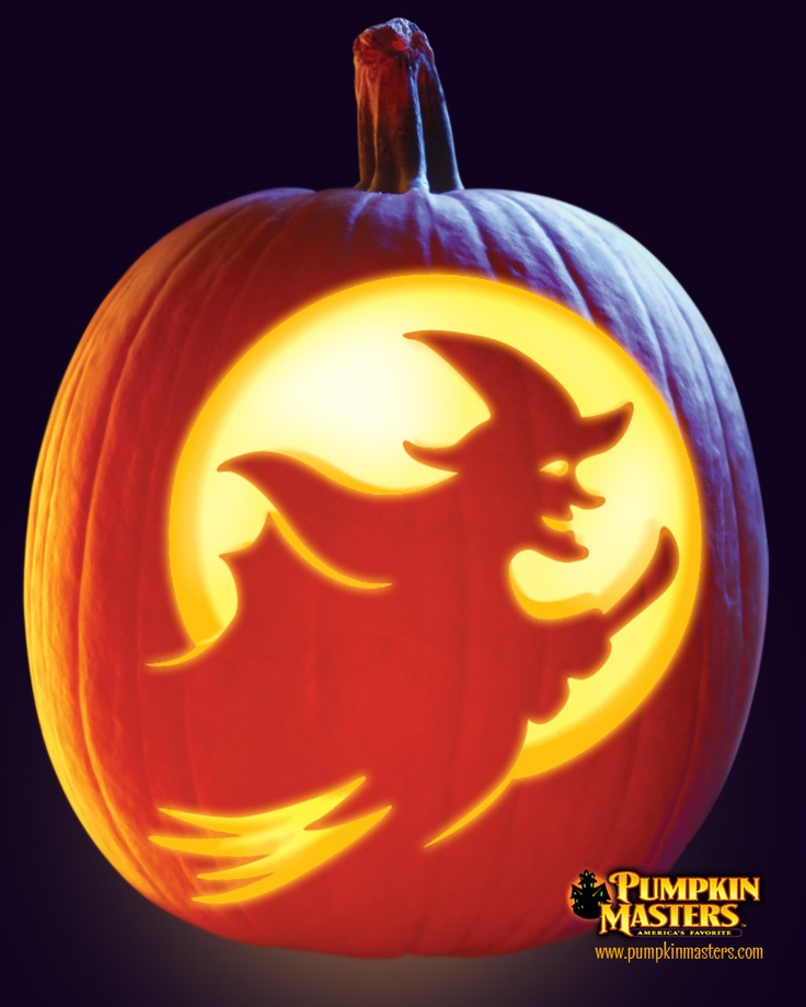 107 best spooktacular pumpkins for kids images on for Witch carving pattern for pumpkins