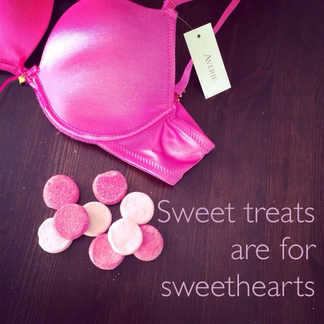 Sweet treats are for sweethearts. #pink #baci #underwear #hollywood #bra