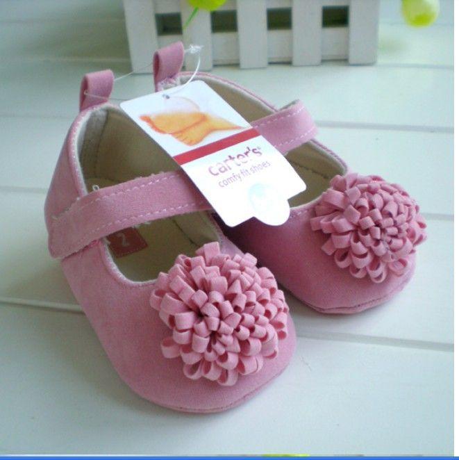 Grátis frete 2014 New Festival flor 0 1 anos recém nascidos bebê meninas infantil primeiros caminhantes criança bebe sapato jane sapatos Hot em Sapatos de no AliExpress.com | Alibaba Group