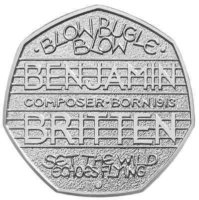 Benjamin #britten 50p coin rare fifty #pence 2013 blow #bugle blow commemorative,  View more on the LINK: http://www.zeppy.io/product/gb/2/252350786477/