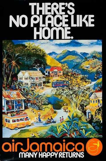 Vintage Travel Poster. I miss Air Jamaica serving Boston directly.