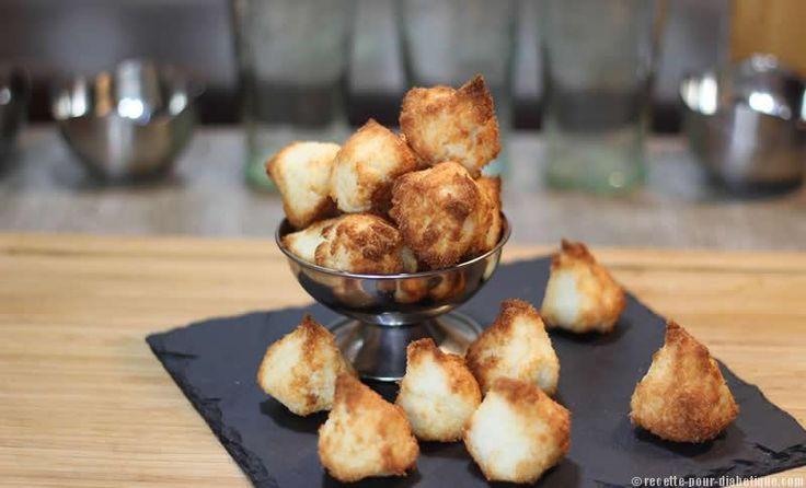 Rochers à la noix de Coco ou Congolais sans sucre