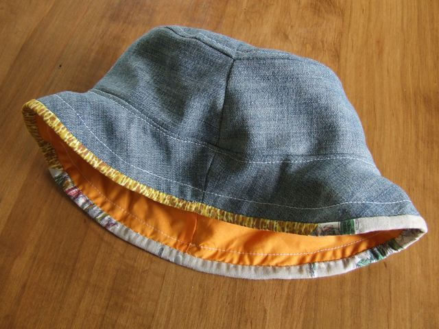 michele made me: New-Old-Reversible-Sun-Hat