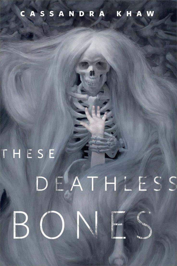 Sam Weber cover for These Deathless Bones by Cassandra Khaw.