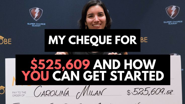 I got a cheque for $525,609 dollars! You'll be surprised, but here's how it can happen for you too. Greetings from Las Vegas! I'm here for three days attending the Supercharge Sum…