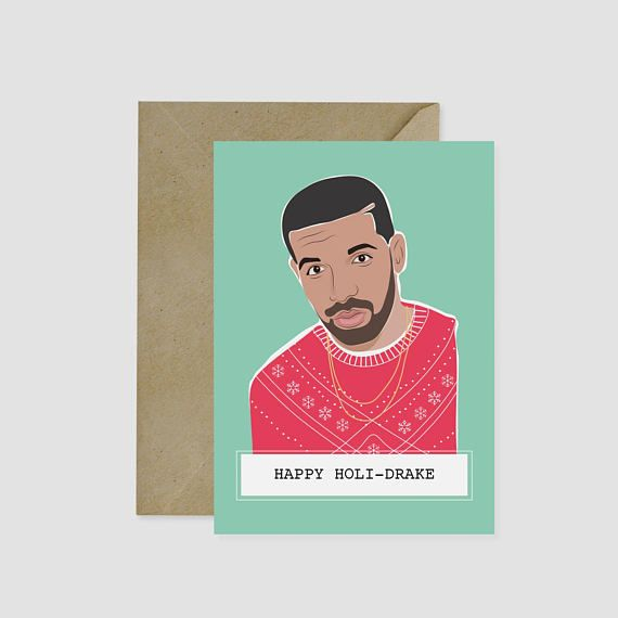 Hot Laundry Paper Co. Christmas cards - Drake