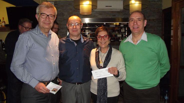 Noche de Pasión en Les Vinyes (14/02/2015) - Entrega de los premios del sorteo