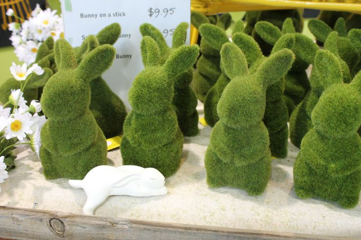 It's a moss bunny army!