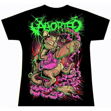Tricou fete Aborted: Catborted