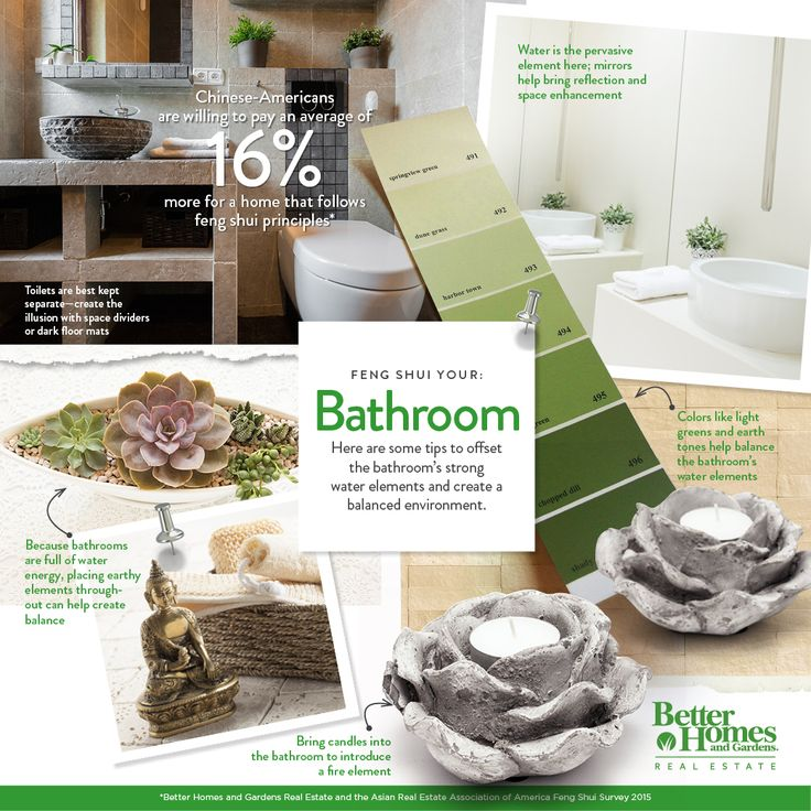 1000 images about feng shui your home on pinterest home for Feng shui bathroom color