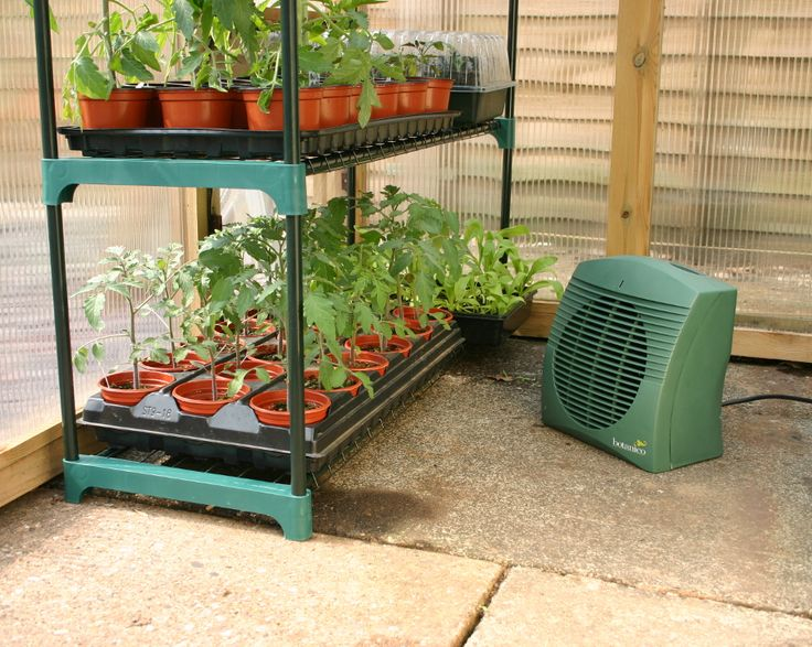 The 2kw Botanico Greenhouse Heater has a variable heat output of 1kw or 2kw and thermostatic controlled function is perfect for protecting your plants against the harsh winter months. This heater also has a cool air function for ventilation purposes and comes complete with a 1.8m sheathed cable. It is IPX4 safety rated to BSEN 60529 and complies with EN 60335-1.