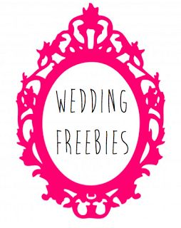 WEDDING FREEBIES FOR A BUDGETED BRIDE! Awesome. Not sure if you will like any of these or use them, but I thought it was worth a peek!