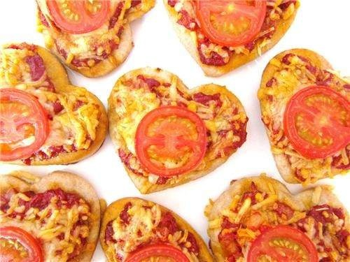 awwwww!: Fun Food, Pizza Heart, Valentines Day, Healthy Recipes, Heart Pizza, Fast Food, Favorite Recipes, Food Photos, Food Drinks